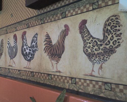 Fashionable chickens?