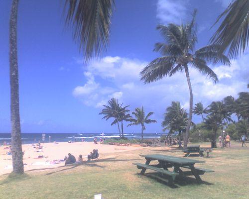 Po'ipu Beach on Kaua'i's south shore.