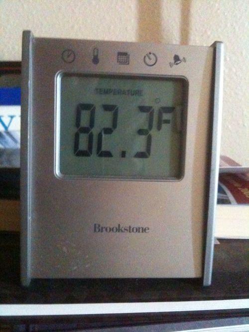 Inside temperature