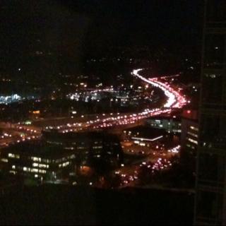 I-405 makes its (slow) way through Bellevue, WA