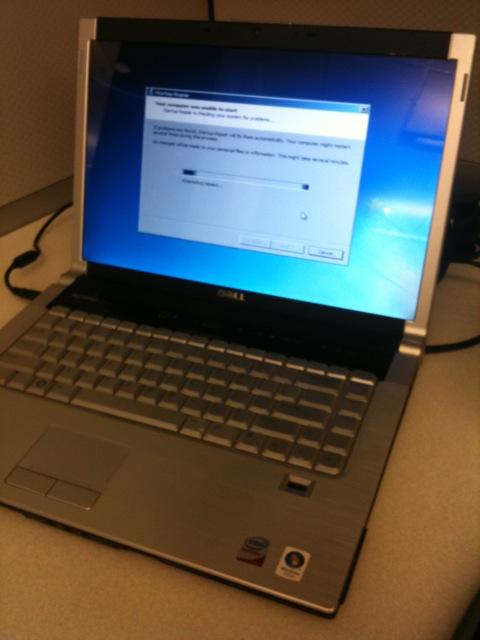 Unhappy laptop