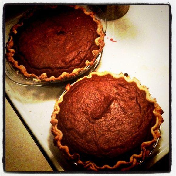 Julie Anne's scratch-made pumpkin pies