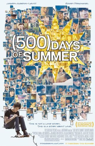 """(500) Days of Summer"" movie poster (click for larger)"
