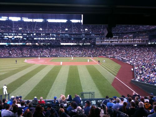 Safeco Field view from Section 152