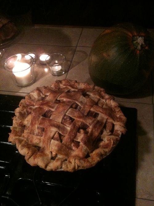"""I think this is the most beautiful pie I've ever made!"""