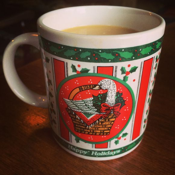 Holiday coffee in September
