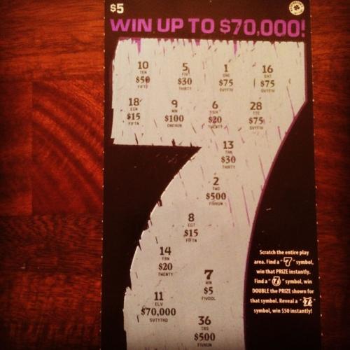 $5 winner