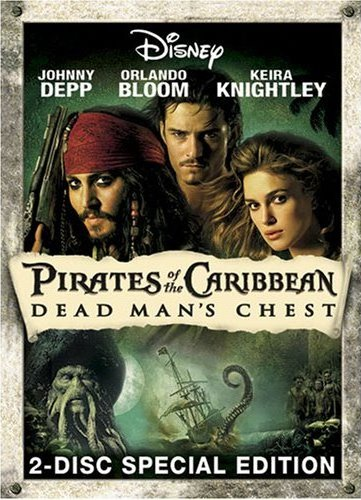 DVD cover: Pirates of the Caribbean: Dead Man's Chest