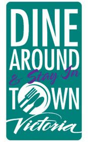 Victoria, BC Dine Around & Stay in Town logo