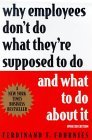 Book cover: 'Why Employees Don't Do What They're Supposed To Do...'