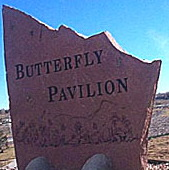 Buttefly Pavilion sign