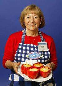 Gloria Rendon: Corn- and Cheese-Stuffed Peppers