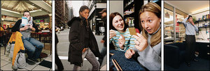 Photos of some word-of-mouth marketing participants; click for full-size view in new window