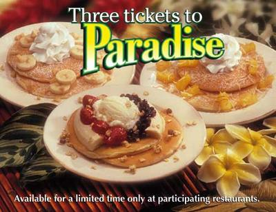 IHOP's Paradise Pancakes combos... gah