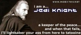 I am a Jedi Knight