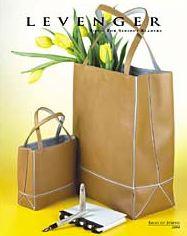 Levenger spring 2004 catalog cover