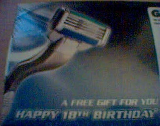 Mach3 18th-birthday package back