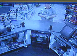 Mark is seen on security video at Maverik the night before he reported Lori missing
