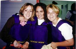 Mindi Christensen, left, Lori Soares and Heidi Gregory