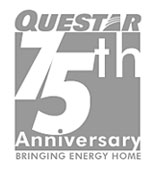 Questar 75th Anniversary insignia