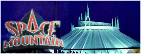 Space Mountain, Disneyland